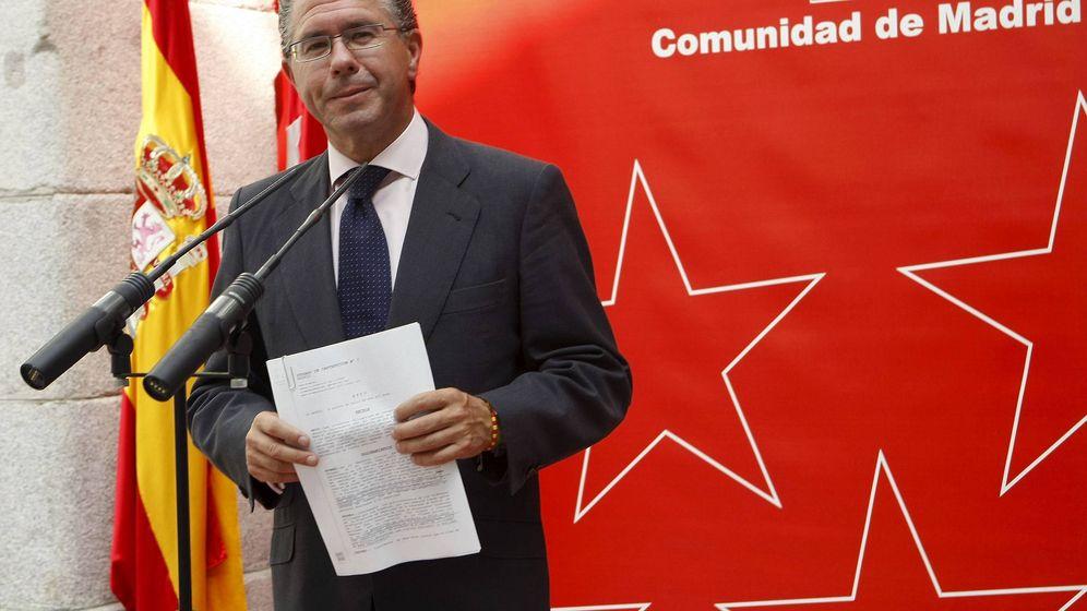 Foto: Francisco Granados cuando era consejero de presidencia, justicia e interior de la Comunidad de Madrid. (EFE)