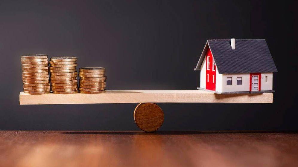 Foto: Representación del coste de las hipotecas. (iStock)