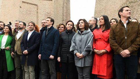 La derecha se aferra a los indultos para esconder su fractura en Colón
