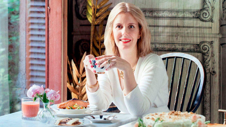 Cristina Oria, en su restaurante de Conde de Aranda. (Cortesía)