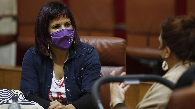 La líder de Adelante Andalucía, Teresa Rodríguez. (EFE)
