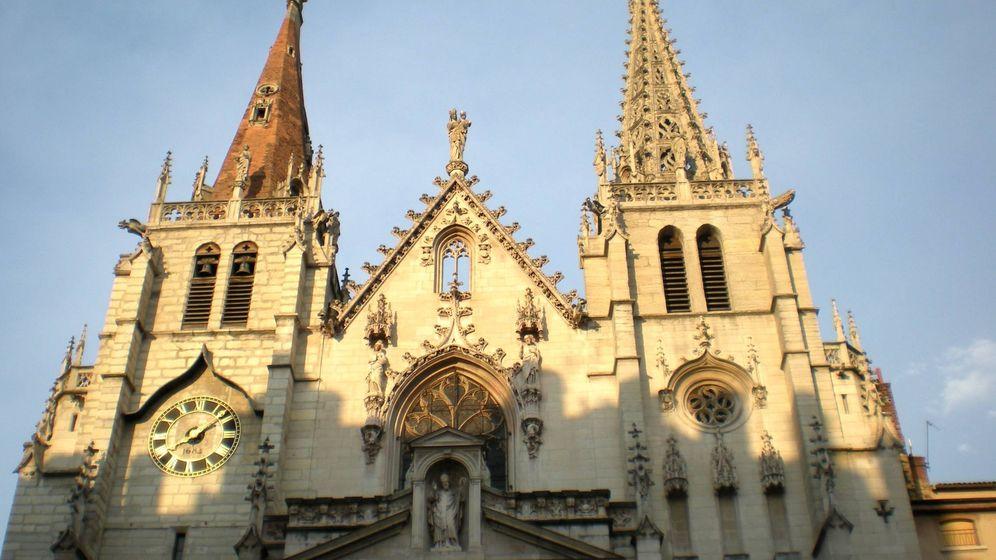 Foto: Iglesia de San Niceto de Lyon (Francia), donde se encuentra la tumba de San Aureliano