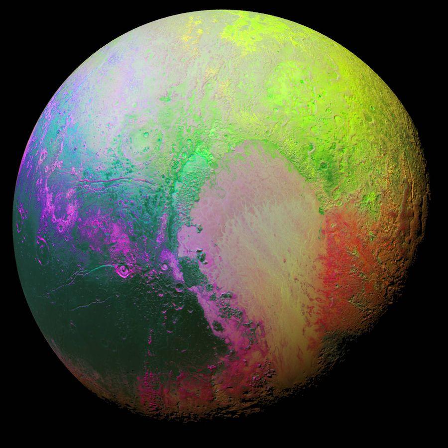 Plutón: Un año de la conquista de Plutón: las imágenes más ...