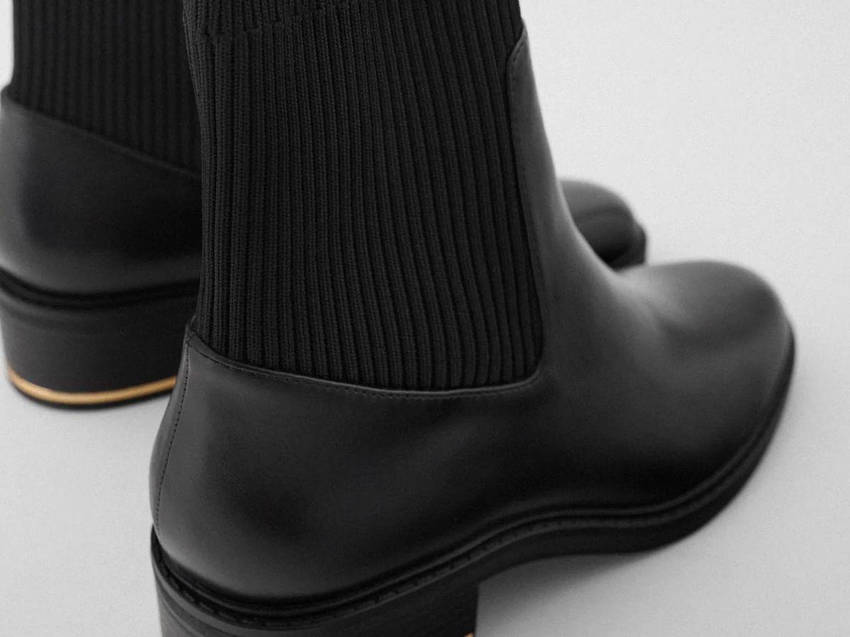 Foto: Nuevos botines de Zara. (Cortesía)