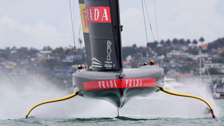 Una de las embarcaciones de la America's Cup. (Reuters)