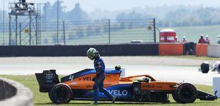 Post de Libres 2: McLaren en problemas, Norris destroza el coche y Carlos Sainz acaba 13º