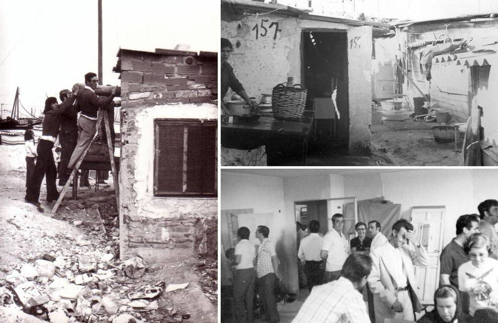 Foto: Los vecinos consiguieron transformar las chabolas en barrios dignos.