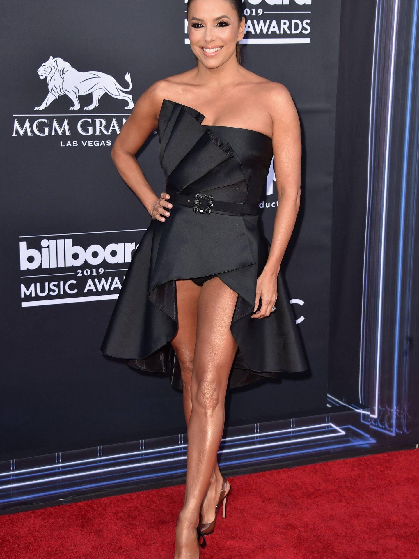Eva Longoria en los Billboard Music Awards de 2019. (Cordon Press)
