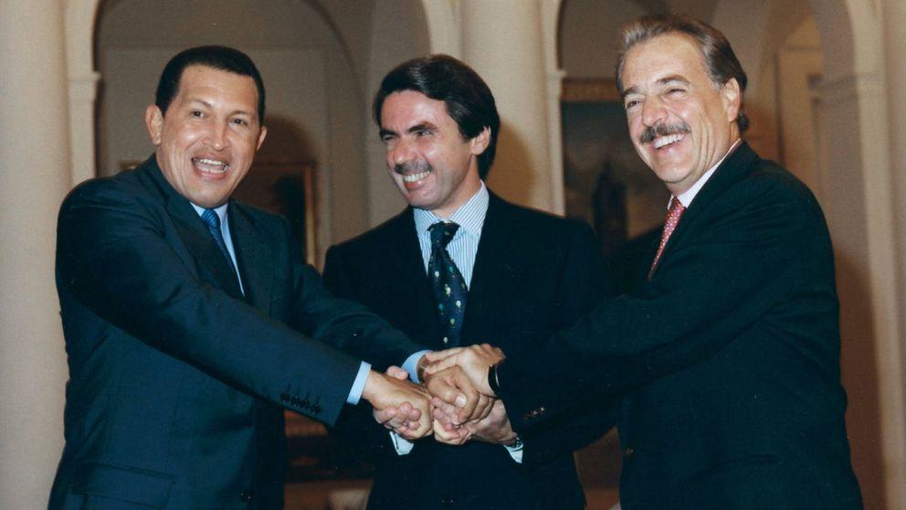 Aznar mandó a Correa, Agag y Arriola de asesores... a Venezuela