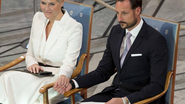 Foto: El príncipe Haakon y la princesa Mette-Marit en una imagen de archivo (Gtres)