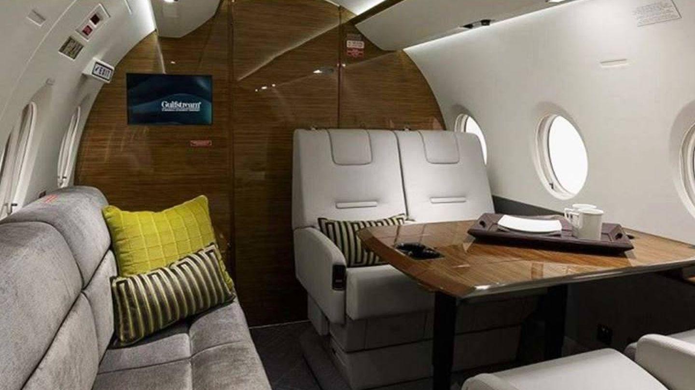 Interior de un jet privado. (EFE)
