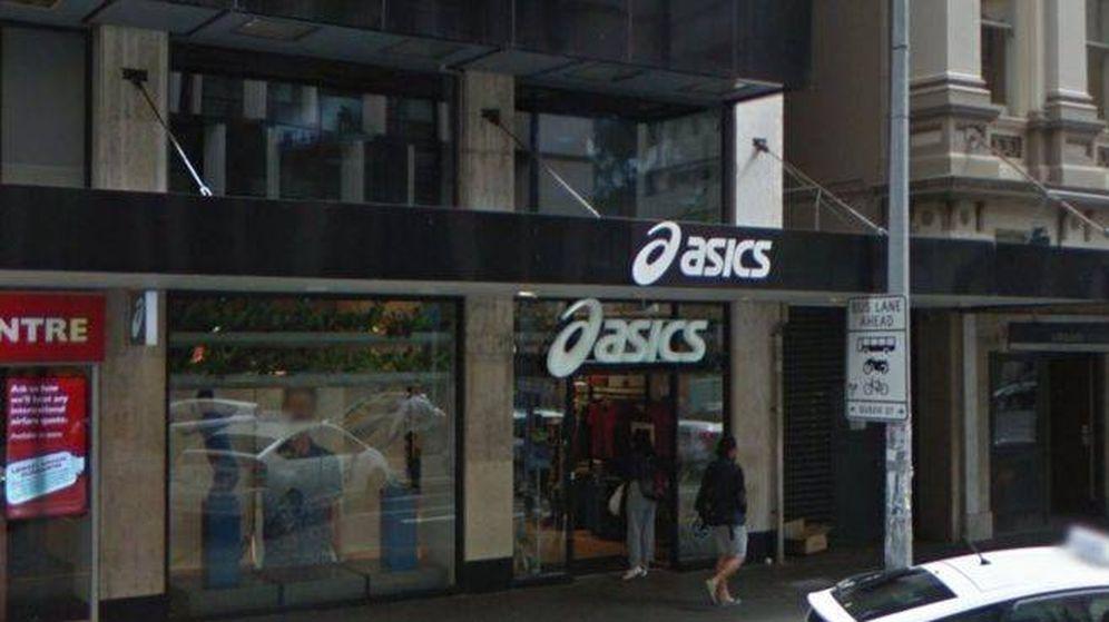 Foto: Tienda Asics en Nueva Zelanda