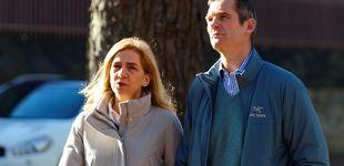 Post de La infanta Cristina y Urdangarin, de comida familiar en Tudela (con al menos 5 escoltas)