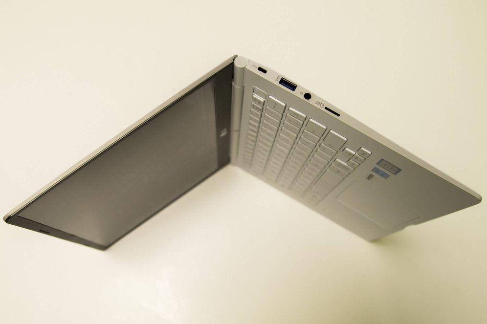 Foto: LG Gram, un portátil peso 'pluma'