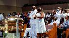 El funeral de George Floyd se convierte en un grito por la justicia racial en EEUU