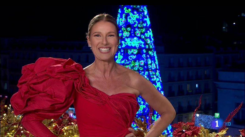 El dardo de Anne Igartiburu a ¿Cristina Pedroche? por el vestido de las campanadas