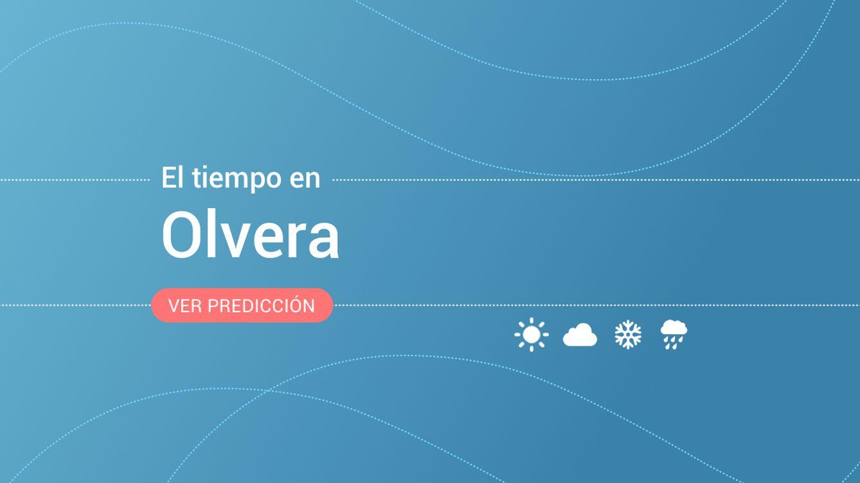 El tiempo en Olvera: previsión meteorológica de hoy, viernes 1 de noviembre