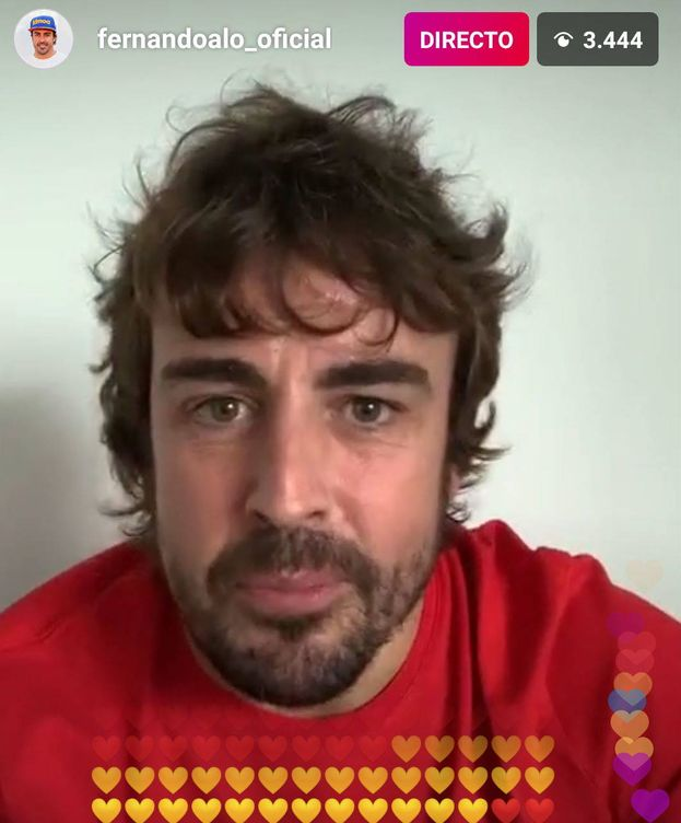 Foto: Fernando Alonso comparte su confinamiento día a día por Instagram. (Fernando Alonso)