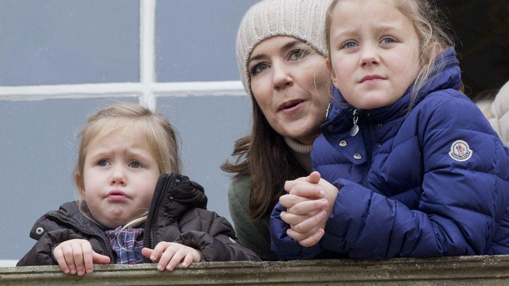 Los pequeños príncipes de Dinamarca se van de cacería