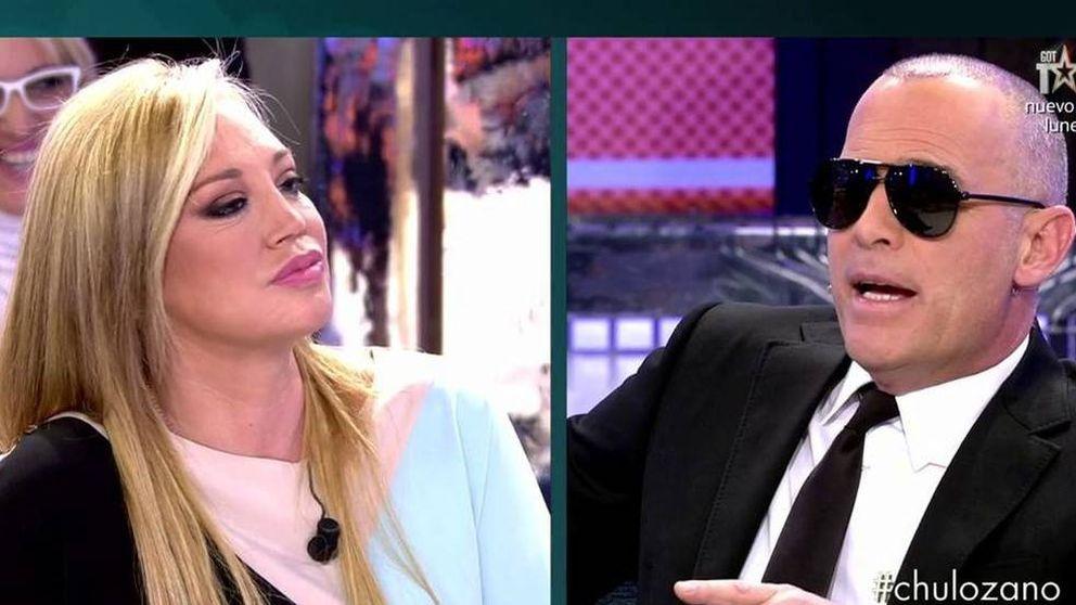 Carlos Lozano atiza a la Esteban en el 'Deluxe': No vendas tus miserias por dinero