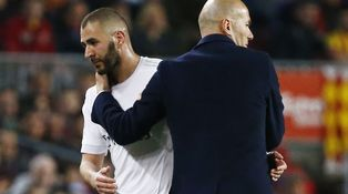 Benzema, el mimado del presidente... y de Zidane