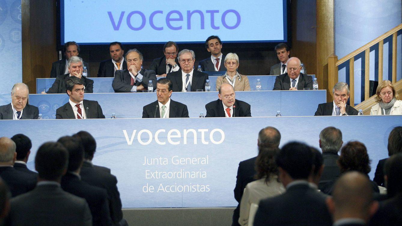 Foto: Junta general de accionistas de Vocento. (EFE)
