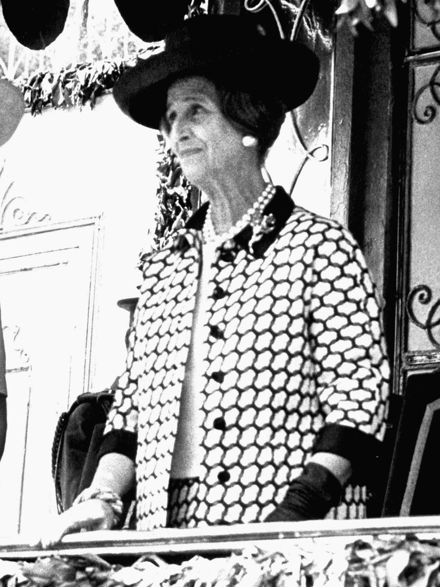 Carmen Polo, en una imagen de archivo. (Cordon Press)