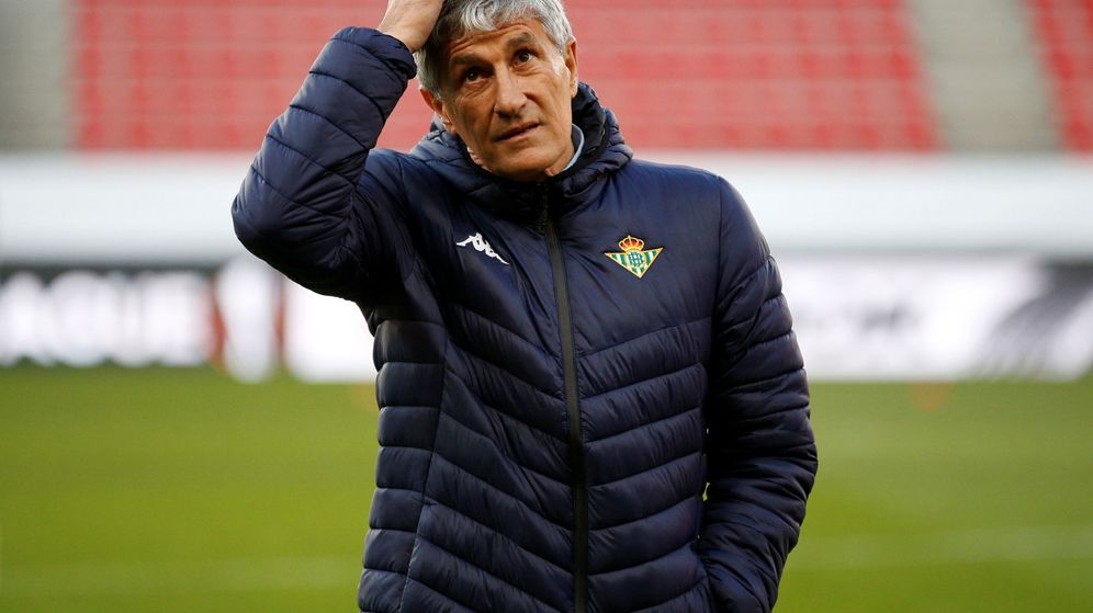 Foto: Quique Setién fue entrenador del Real Betis hasta la pasada temporada. (Reuters)