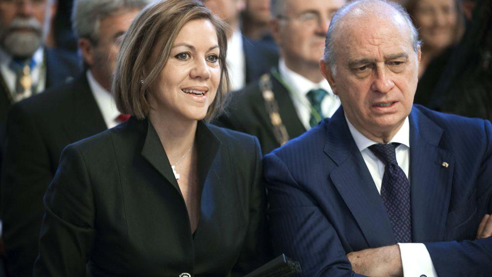 Foto: Cospedal y Fernández Díaz. (EFE)