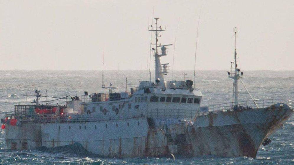 Foto: El 'Kunlun', uno de los barcos de Vidal Armadores. (Interpol)