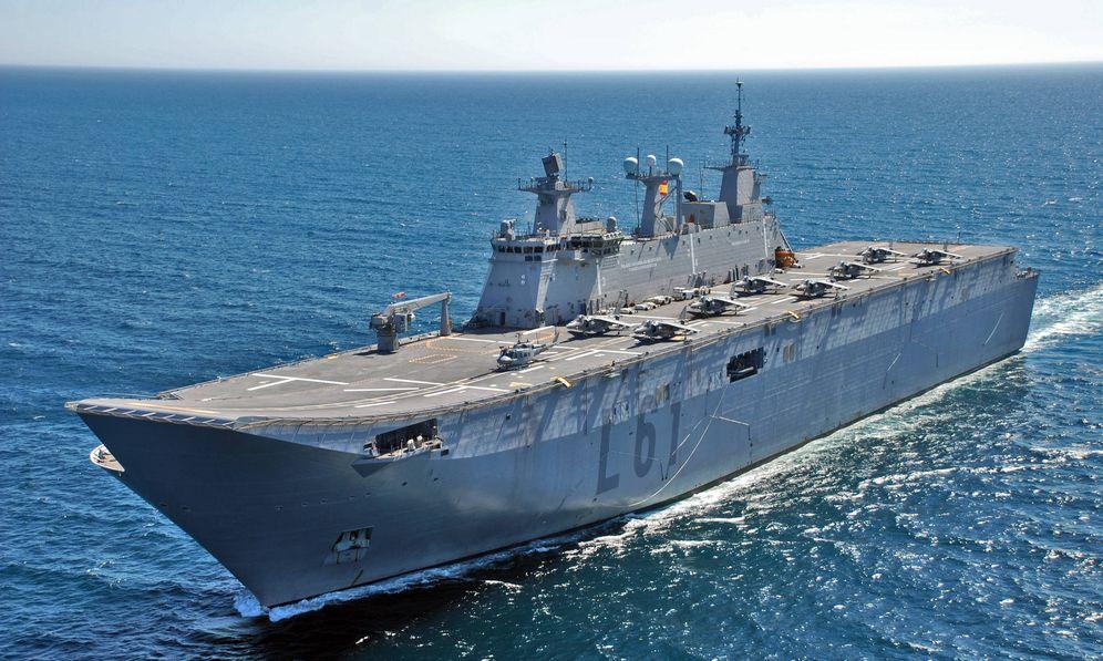 Foto: El buque Juan Carlos I. (Foto: Armada Española/Flickr)