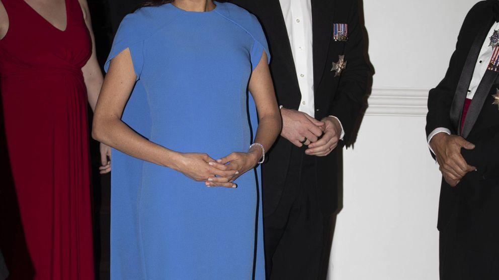 Este es el primer vestido de gala premamá de Meghan Markle (que querrás copiar)