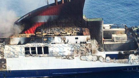 El incendiado buque Sorrento llega hoy al puerto de Sagunto
