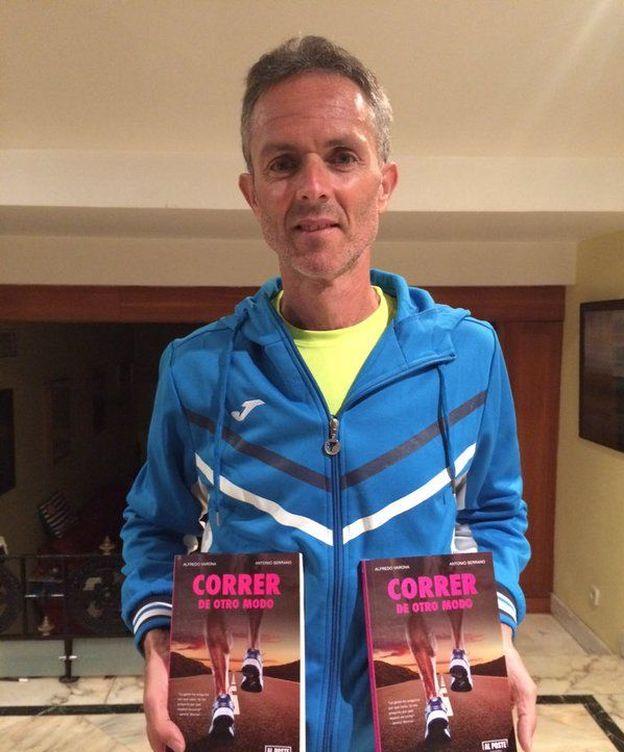 Foto: Serrano ha escrito el libro 'Correr de otro modo'.