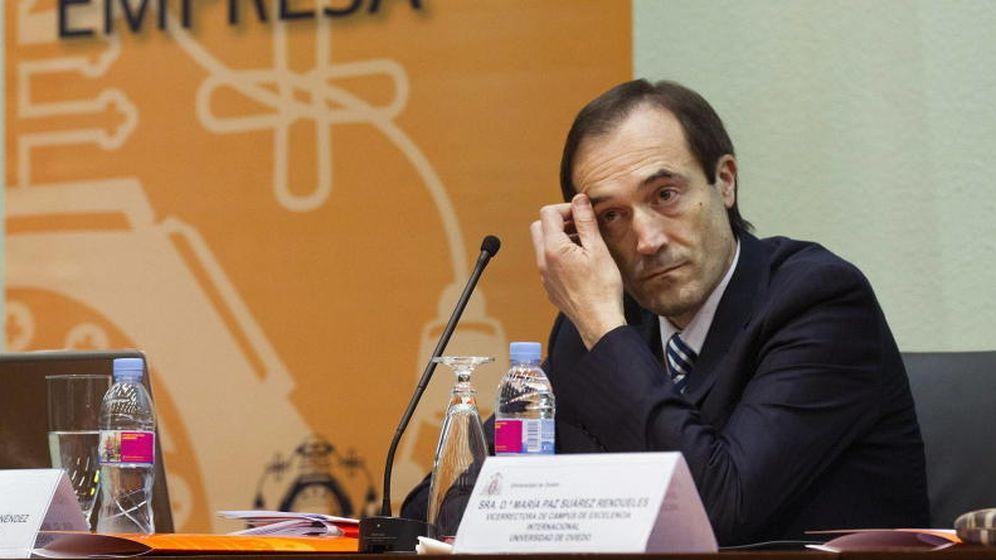 Foto: Manuel Menéndez, consejero delegado de Liberbank.
