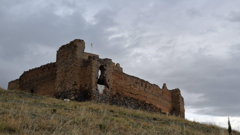 El abandonado castillo de Trasmoz.