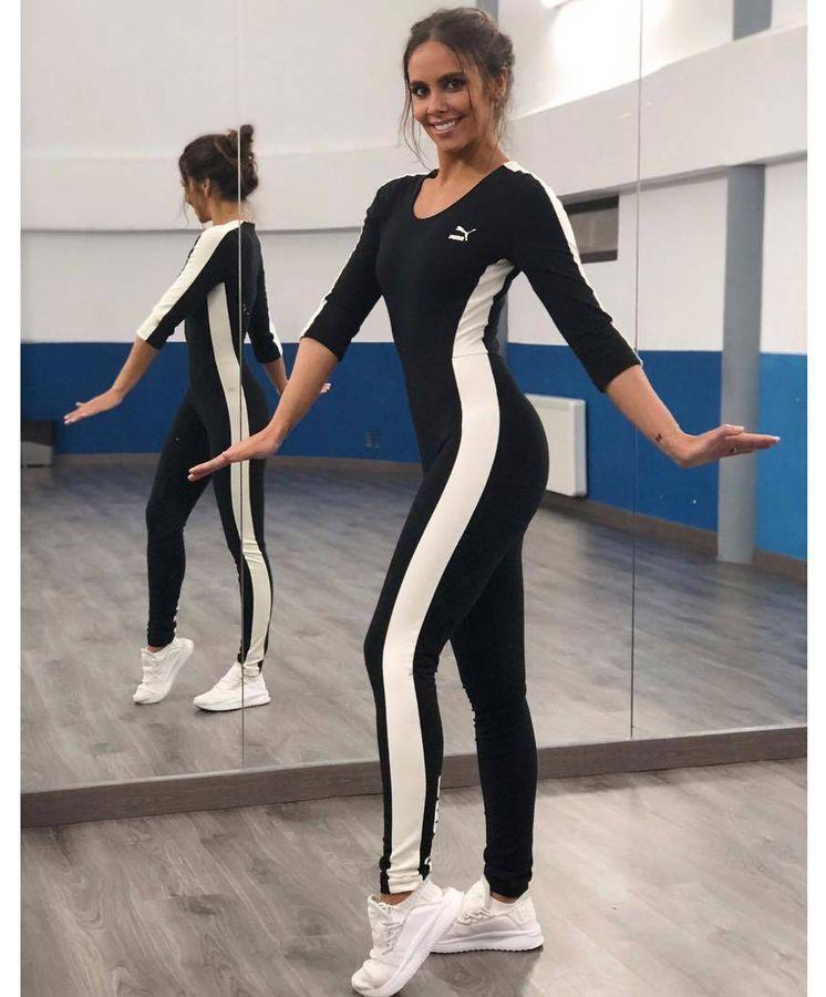 Críticamente escanear visión  Copia el look: Cristina Pedroche: copia su look ochentero para ir al  gimnasio