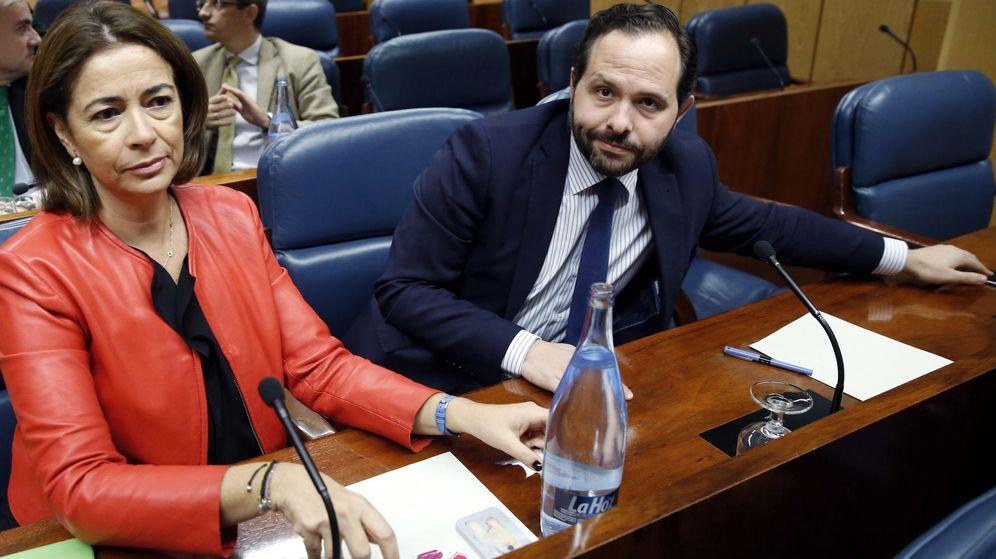 Foto: El diputado del PP en la Asamblea de Madrid, Diego Sanjuanbenito Bonal, es el vicepresidente de la comisión que investigará los casos de corrupción de la Comunidad de Madrid. (EFE)