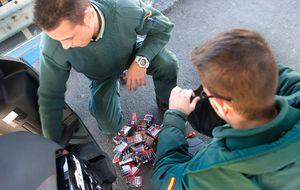 Un dispositivo pionero combate el contrabando de tabaco desde Gibraltar