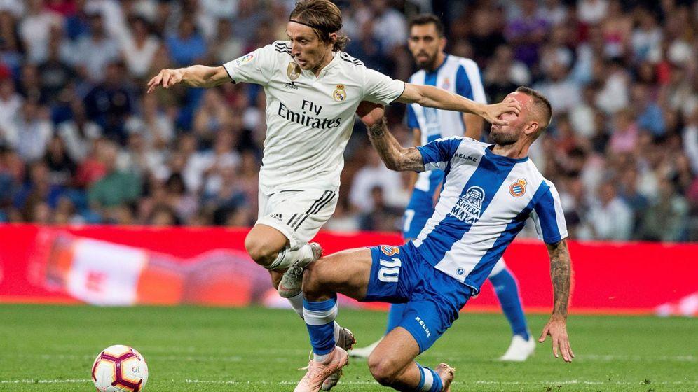 Foto: Modric, este pasado fin de semana en el Bernabéu. (EFE)