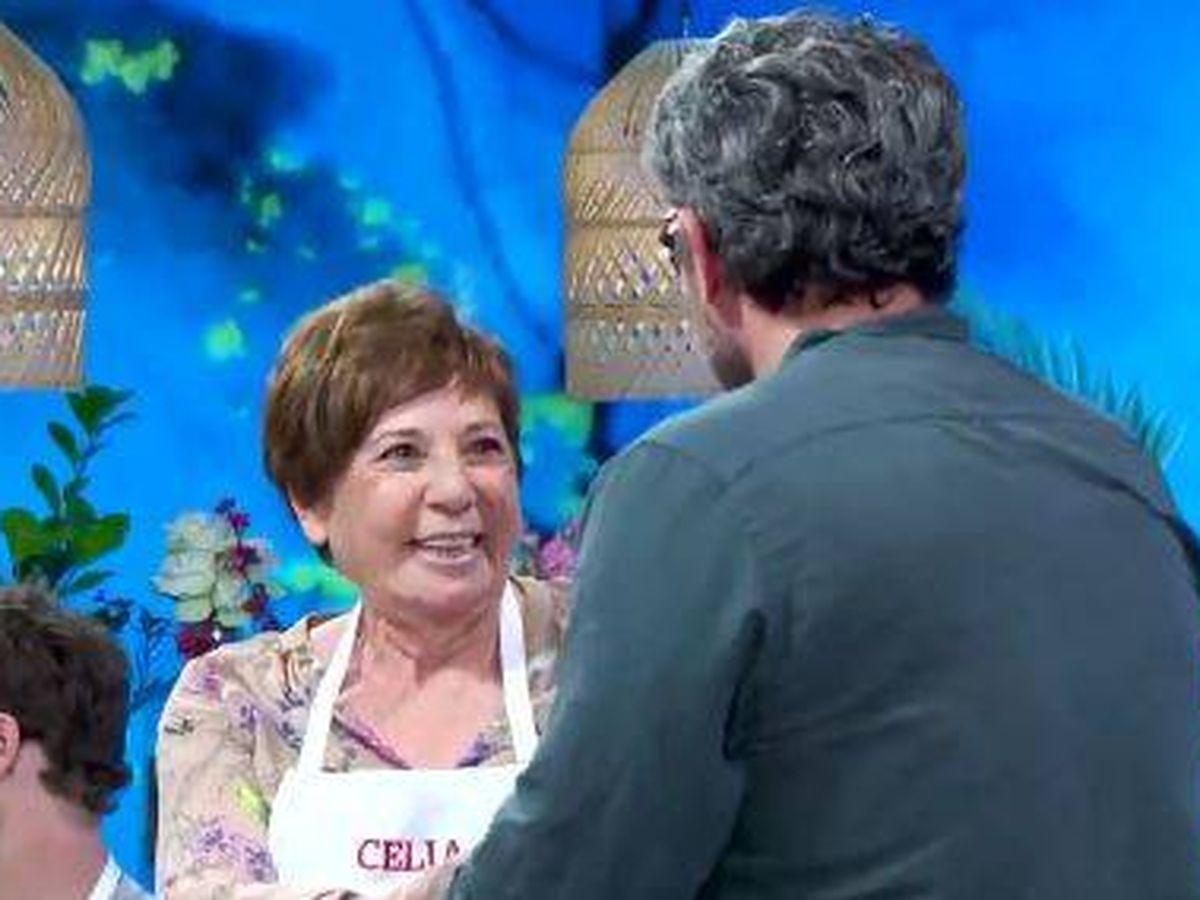 Foto: Celia Villalobos y Máximo Huerta. (RTVE)