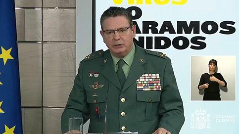 El director operativo de la Guardia Civil se hará la prueba del coronavirus tras encontrarse indispuesto
