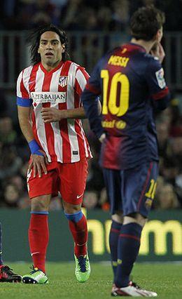 Foto: El Cholo Simeone dio con la tecla de cómo parar a Leo Messi… al menos media hora