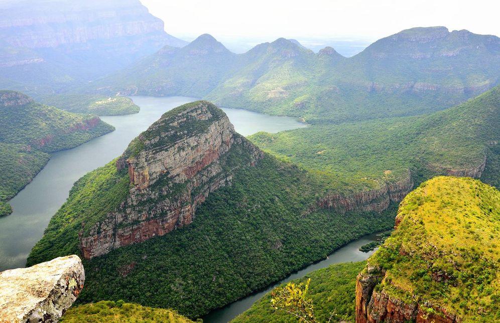 Foto: El espectacular Blyde River Canyon desde la Ventana de Dios. (Fotos: Turismo Sudáfrica)