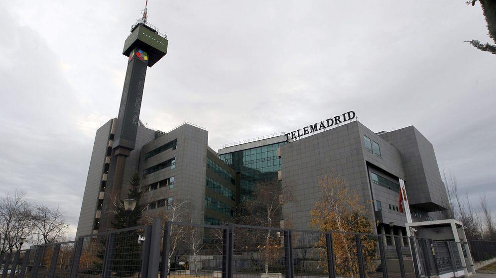 Foto: Vista general de instalaciones de Telemadrid en Pozuelo de Alarcón. (EFE)