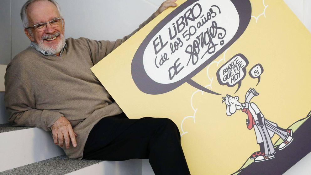Forges, dibujado: José Mª Nieto, Julio Rey y Peridis recuerdan al maestro