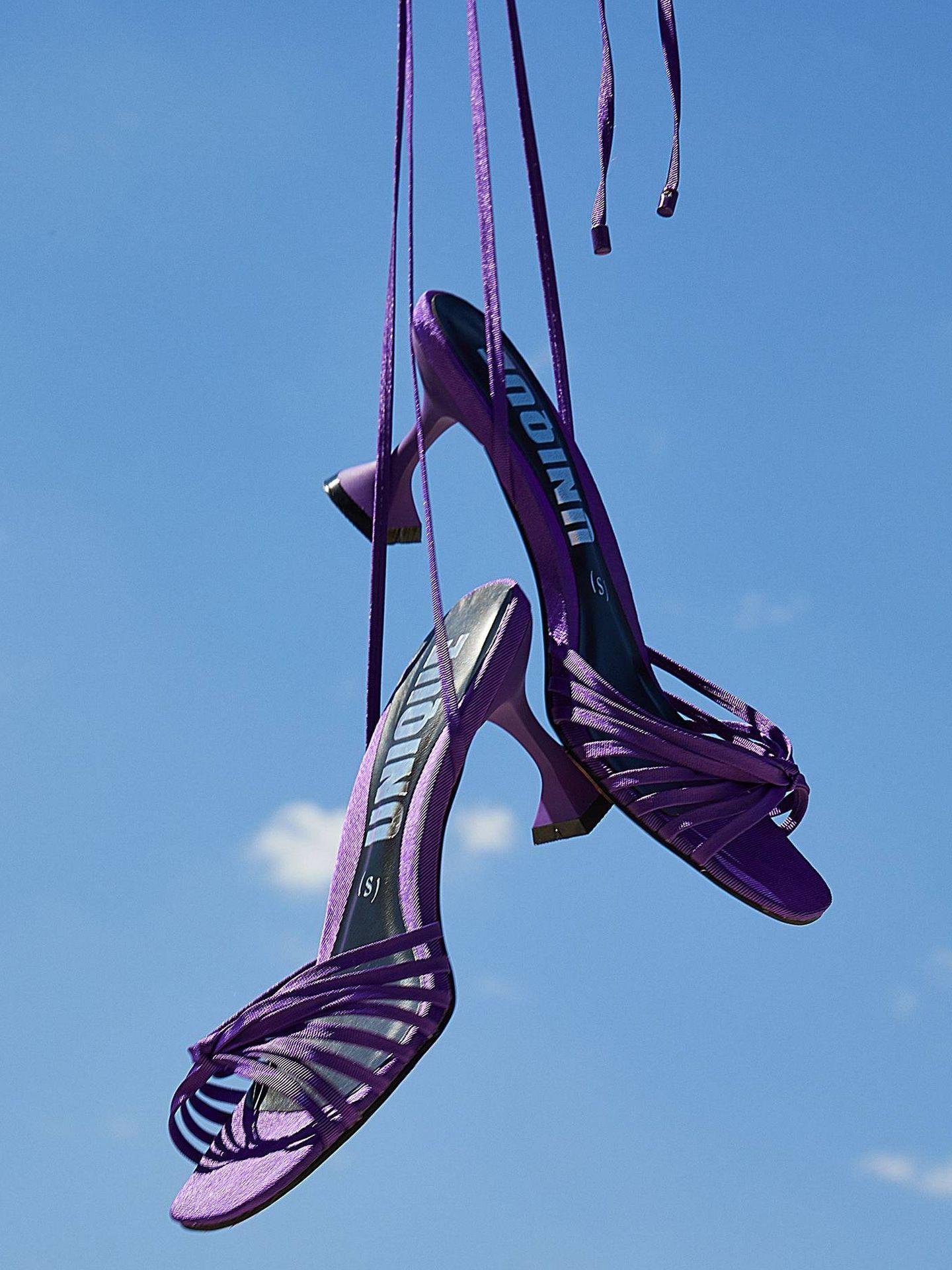 Las sandalias de Sfera. (Cortesía)