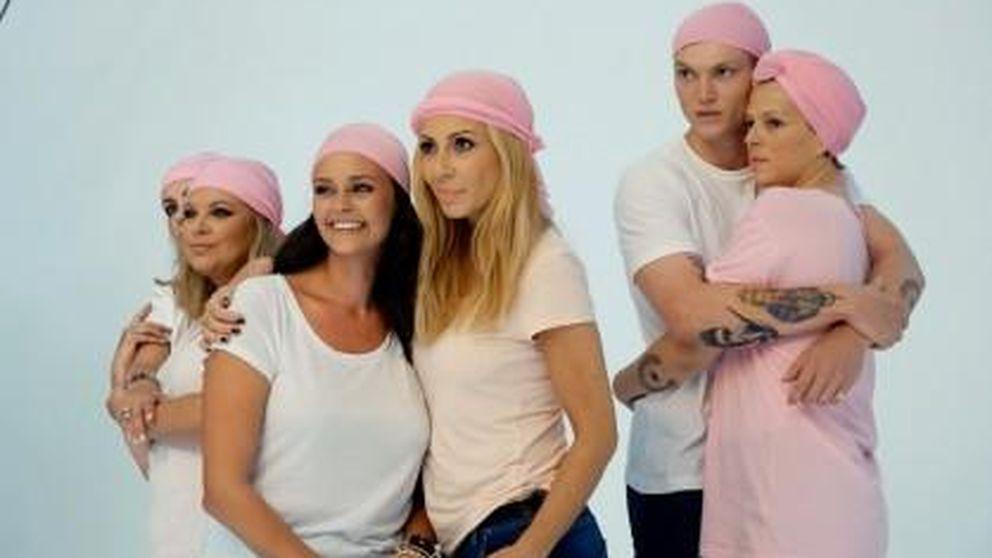 Terelu, Marta Sánchez y Bimba Bosé se abrazan contra el cáncer