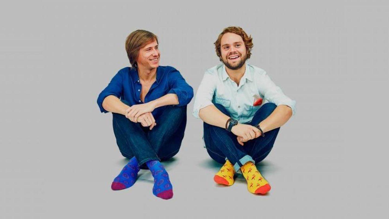 Felipe Cortina y su socio, Álvaro Gomis. (Jimmylion.com)