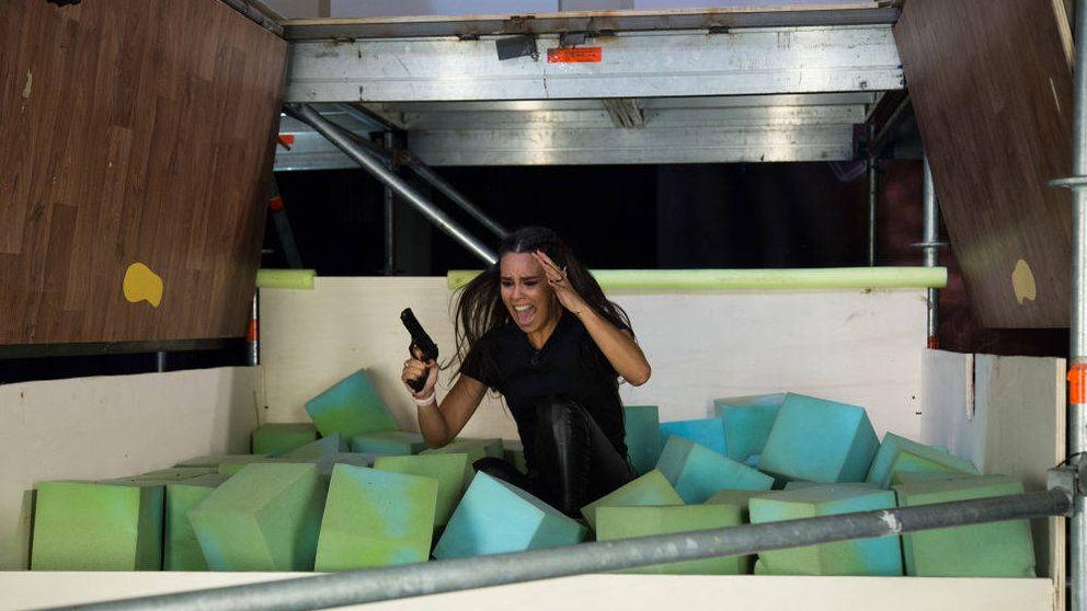 El pánico se apodera de Cristina Pedroche en su reto de 'El Hormiguero'